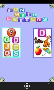 quotfun with lettersquot released letter games for 3 6 years With letter games for 6 year olds