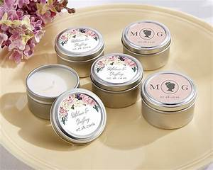 personalized english garden travel candle my wedding favors With personalized candle wedding favors