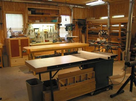woodworking shop ideas wood shop floor plans