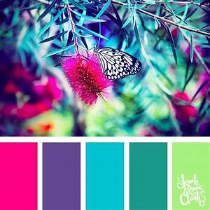 25, Color, Palettes, Inspired, By, The, Pantone, Spring, 2018