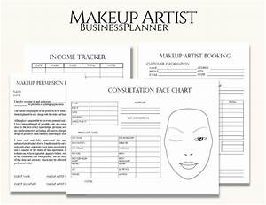 Makeup Artist Business Planner Bundle  Freelance Makeup