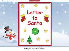 letter to santa early years teaching resource scholastic With interactive santa letter