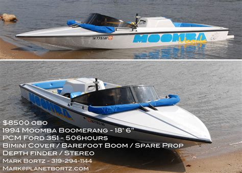 Moomba Boat Props by For Sale 1994 Moomba Boomerang