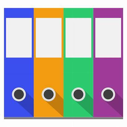Binder Clipart Office Clip Binders Organize Cliparts