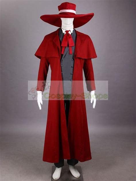 custom cheap hellsing alucard cosplay costume  hellsing