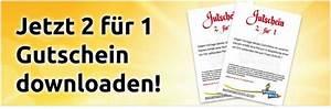2 Für 1 Gutschein : bayern park 2 f r 1 gutschein als download ~ Markanthonyermac.com Haus und Dekorationen