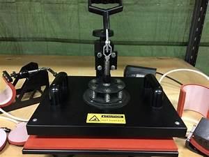 Textiltryck maskin