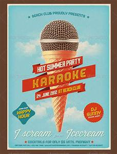 vintage music advertisement poster
