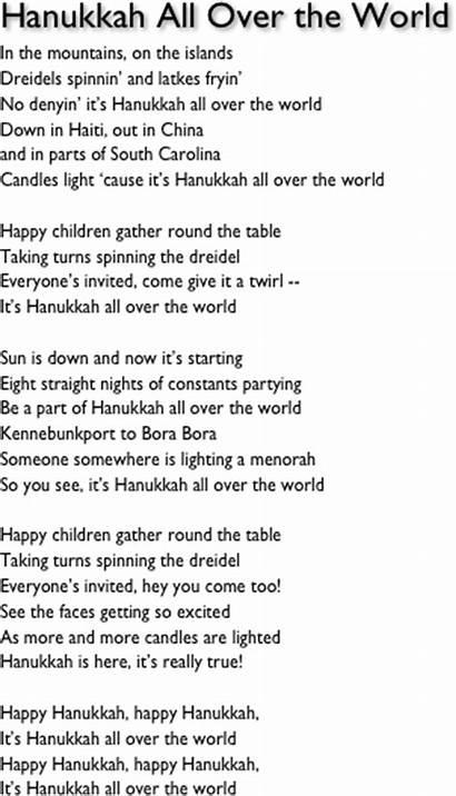 Hanukkah Song Happy Songs Dreidel David Menorah