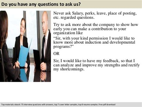 Account Manager Questions by Key Account Manager Questions