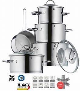 Induktion Töpfe Wmf : wmf transtherm edelstahl topfset 9 tlg induktion t pfe silber kochen genie en haus ~ Watch28wear.com Haus und Dekorationen