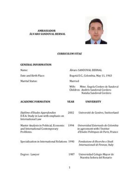 calameo cv english embajador de colombia en noruega
