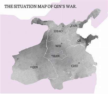 Qin China Unification Wars Dynasty Did Map