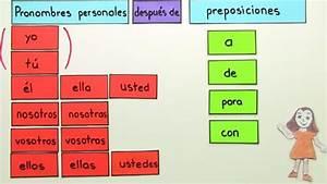Wie Geht Französisch Im Bett : die personalpronomen nach pr positionen spanisch online lernen ~ Watch28wear.com Haus und Dekorationen