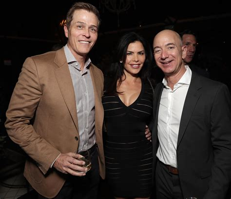 jeff bezos spotted  golden globes party