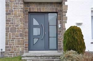 Porte d39entree pvc ou porte alu en neuve ou renovation for Porte d entrée pvc en utilisant fenetre pour porte d entrée pvc