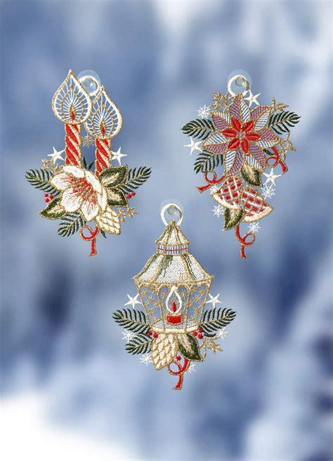 Fensterdekoration Weihnachten Bilder by Fensterbilder 3er Set Quot Weihnachten