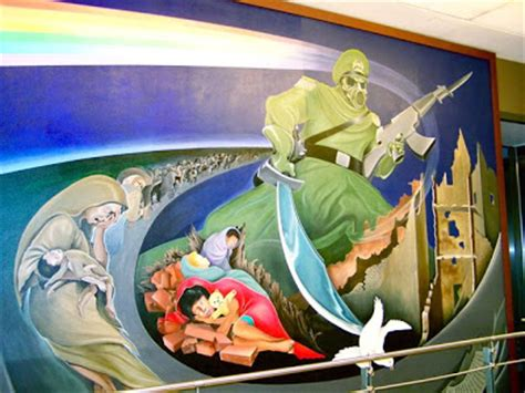 Denver Airport Murals Conspiracy Debunked by Ay Fiziks Sup With The Denver Airport Rapmusic