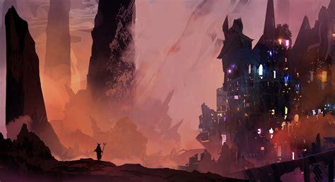 Deviantart Anime Wallpaper - fond d 233 cran num 233 rique fantastique paysage