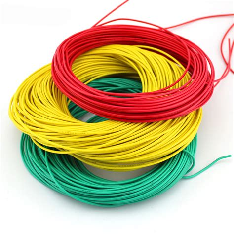 multicolored wire cable thin wire black green