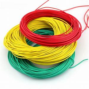 Multicolored Wire Cable    Thin Wire    Red  Black  Green