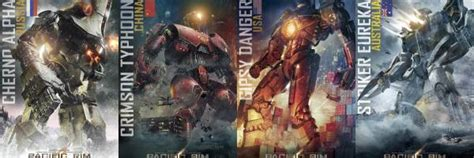 pacific rim posters feature   jaegers collider