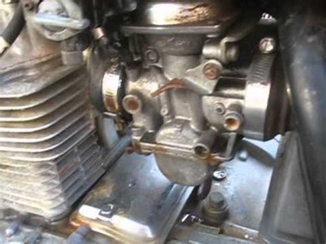 diagnose carburetor vacuum leaks   motorcycle youtube
