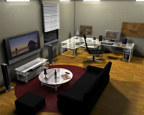 living room computer desk computer room decorating ideas modern small living room