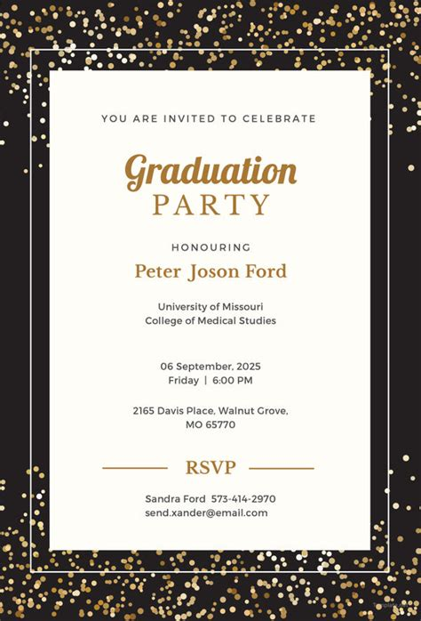graduation invitation templates invitation templates