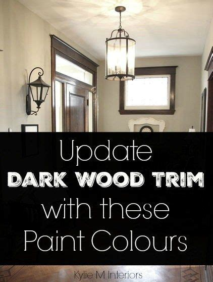 the best neutral paint colours to update dark wood trim the best neutral paint colours to update dark wood trim