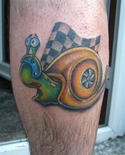 snail tattoo images designs