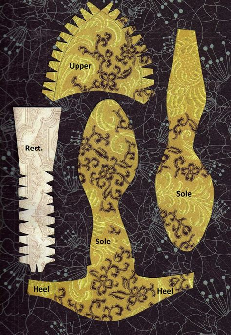 shoe paper pattern  patterns
