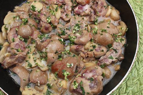 cuisiner rognons de porc recette des rognons de veau au chagne pratique fr