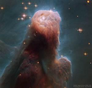 APOD: 2017 March 15 - The Cone Nebula from Hubble