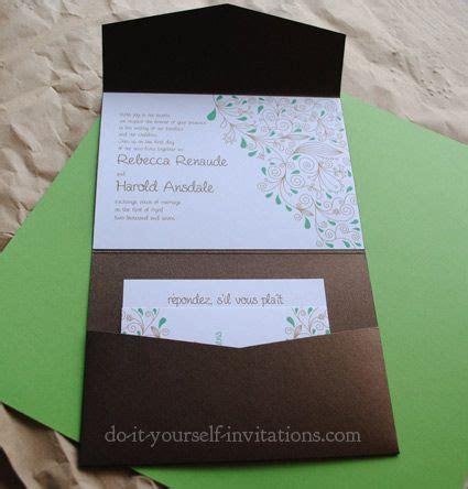 diy wedding invitations templates invitation template