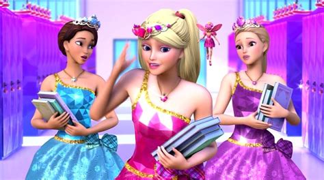 Barbie: Trailer de Barbie escuela de princesas en ingles