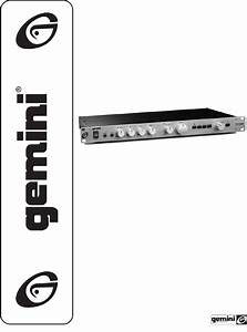 Download Gemini Stereo Amplifier Pa