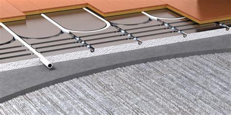 polyplumb underfloor heating suspended floor carpet