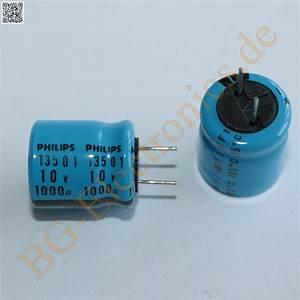Schaltkreise Berechnen : 10 x 1000 f 1000uf 10v 105 rm5 elko kondensator capacitor rad philips 10pcs ebay ~ Themetempest.com Abrechnung