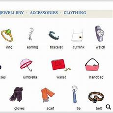 Clothing  Jewellery  Accessories
