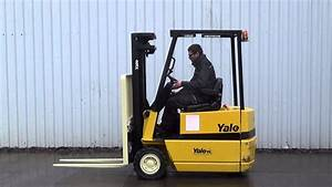 Used 3 Wheel Electric Forklift For Sale