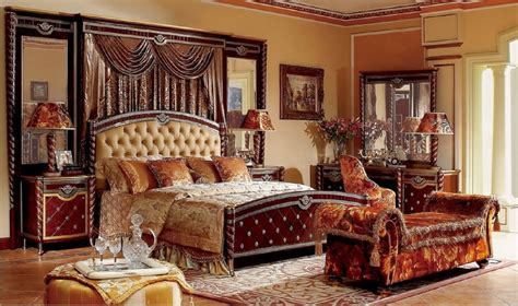 luxury bedroom set 4 pc zeus european burgundy luxury bedroom set 12170