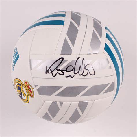 Ronaldo Signed Real Madrid CF Logo Soccer Ball (Beckett ...