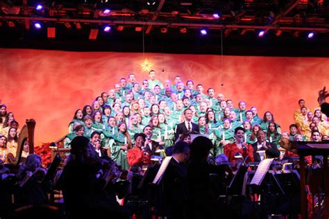 experiencing  epcot candlelight processional  kids