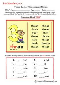 division worksheets no remainders three letter blends beginning consonant blends aussie childcare network
