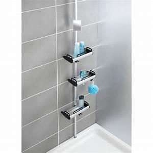 Regal Mit Spiegel : fehr badshop teleskop dusch regal wenko line mit 3 ablagen und spiegel ~ Sanjose-hotels-ca.com Haus und Dekorationen