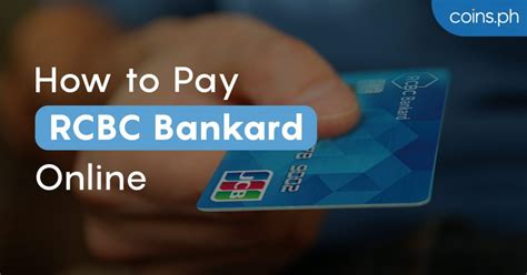 We did not find results for: How to Pay RCBC Credit Card Bills Online | Coins.ph