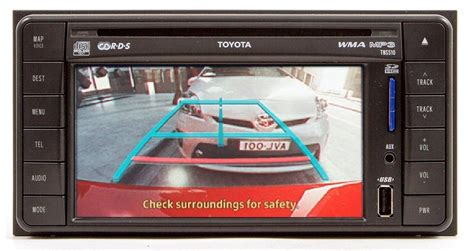 rear view camera connection cable  toyota gen gen