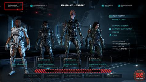 mass effect andromeda how to earn apex rating points in multiplayer