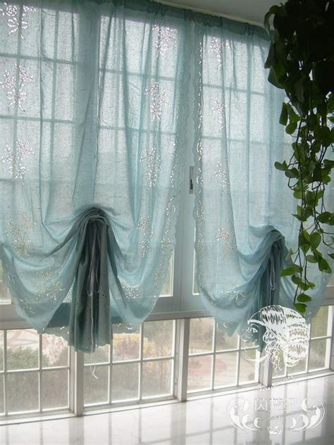 Curtain Shades by Pull Up Balloon Shades And Country On